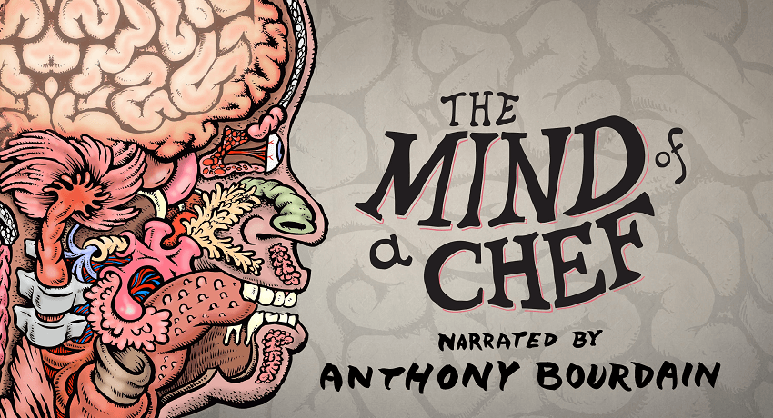 Poster promocional de la serie The Mind of a Chef