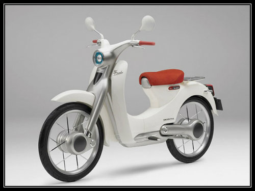 Honda Super Cub: Econo Power