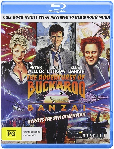 The Adventures of Buckaroo Banzai Across the 8th Dimension (1984) BluRay
