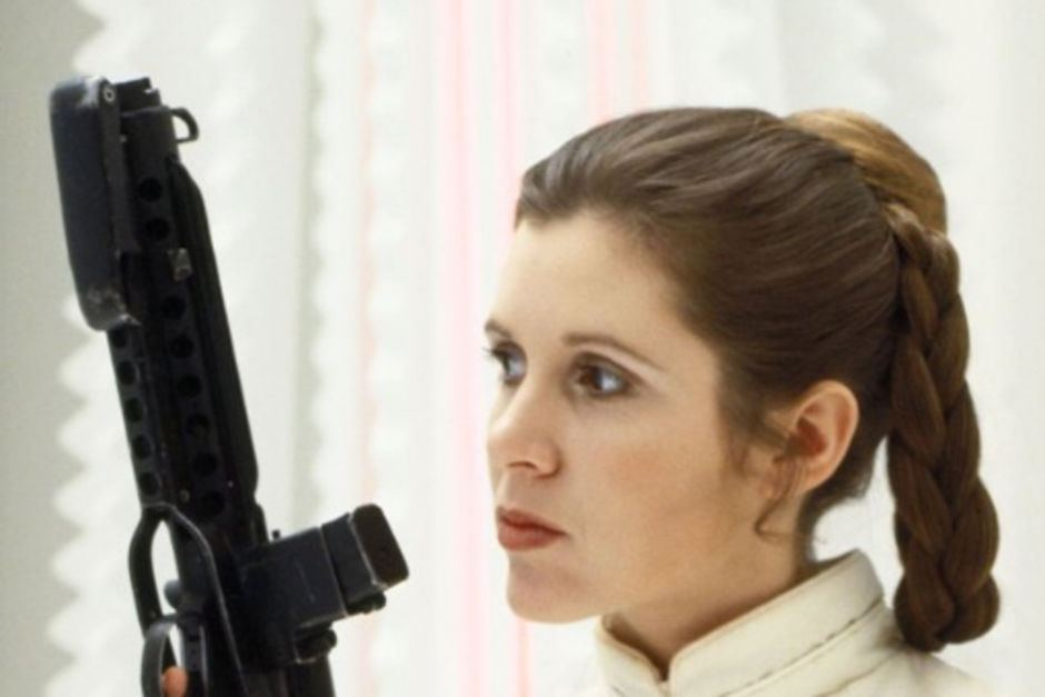 Hagamos TOP a Carrie Fisher - Leia Star Wars
