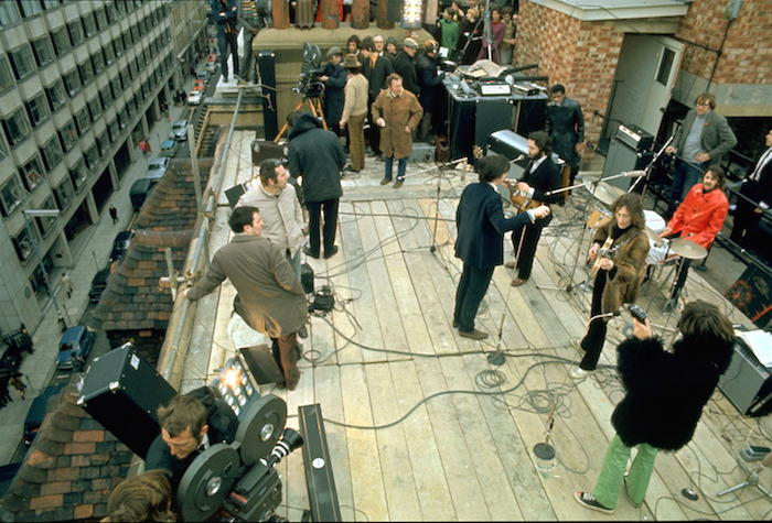 The Beatles Rooftop Concert 1969(C.en la azotea)