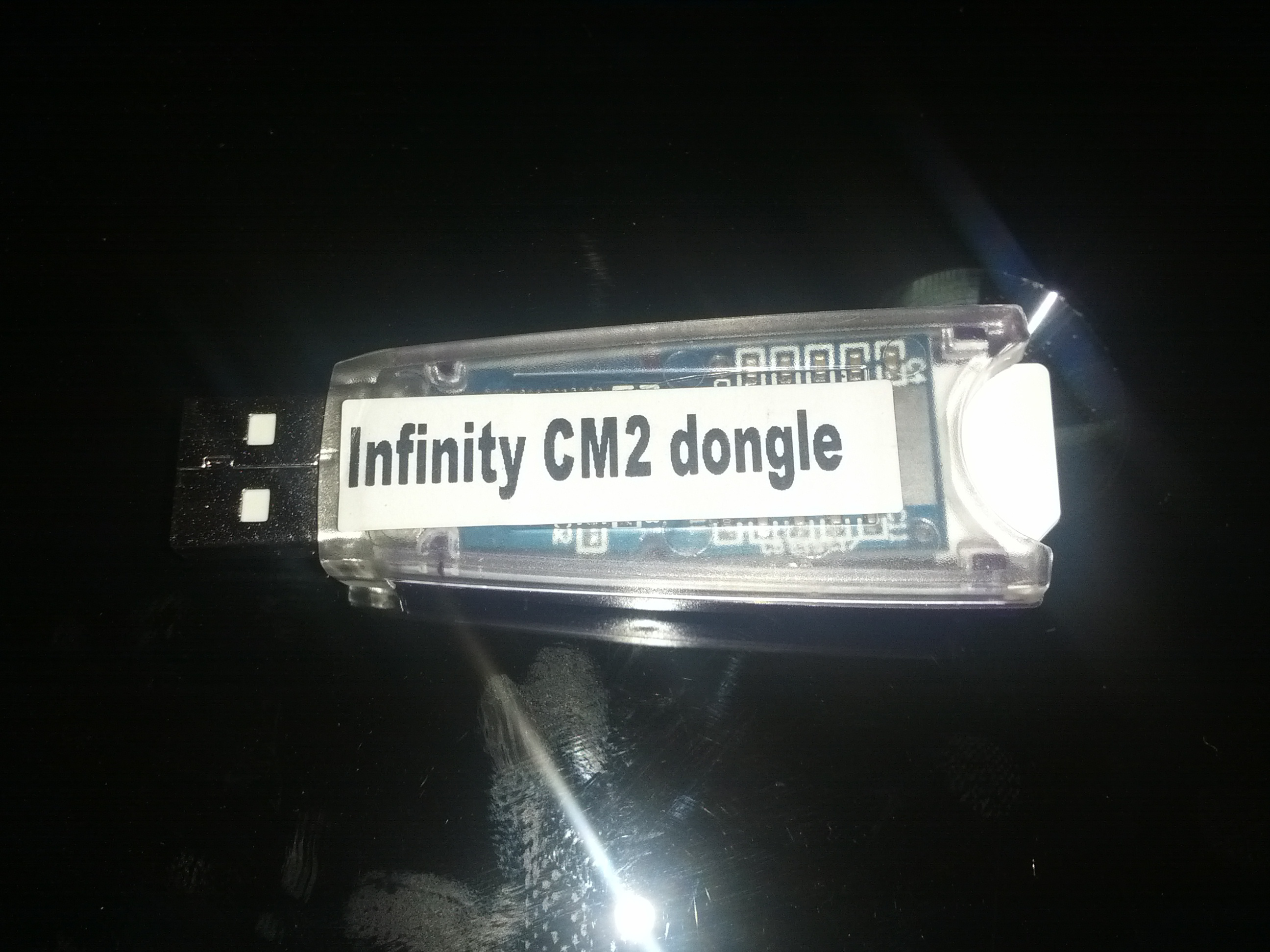 infinity dongle-dongle manager no me reconoce smart card ni me permite registrar E97