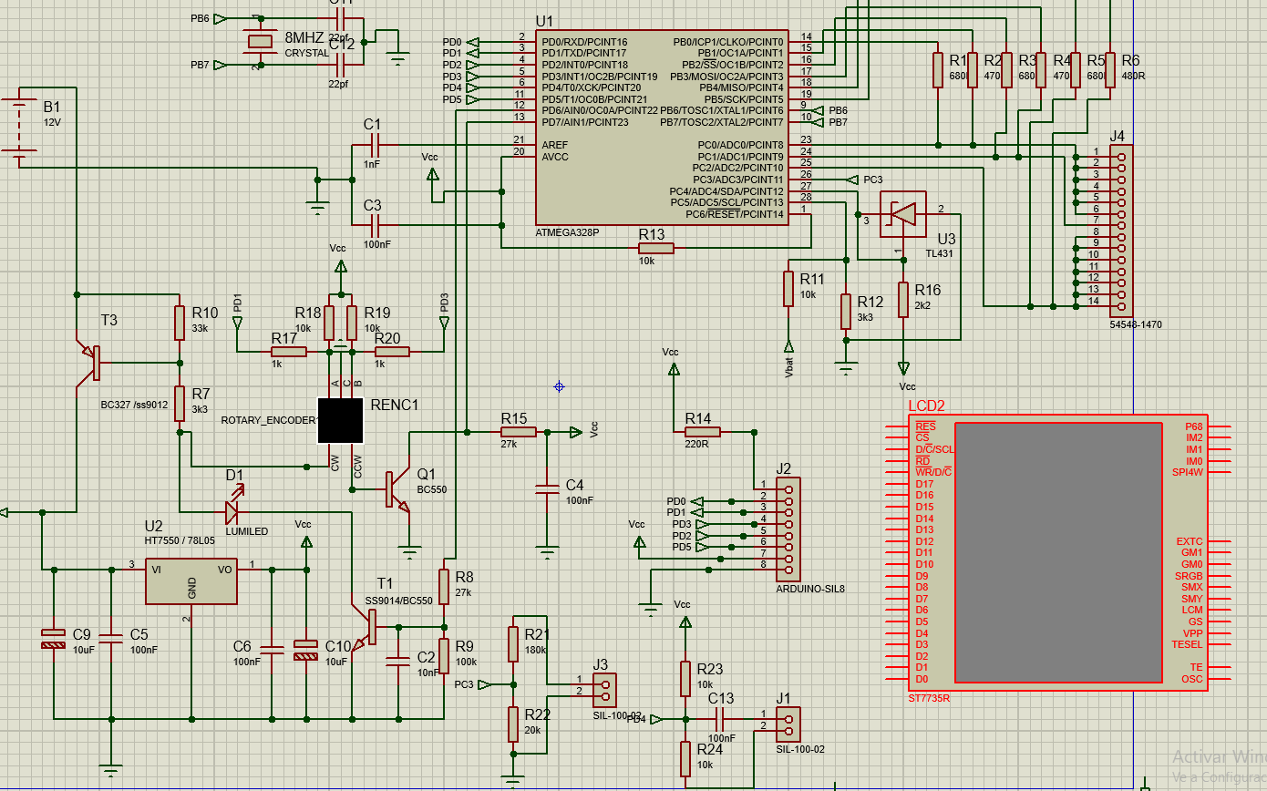 20 Lcr Esr Transistor Checker Project Page 167 How To Build Xtal Tester Or It Would Be The Configuration In Proteus Of This Display Because I See Many Connectors Can Not Make Work Someone Help Me Please