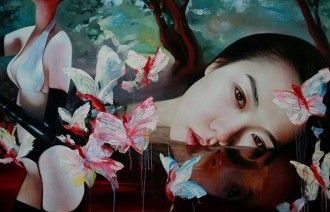 Ling Jian was born in the Shandong Province of China in 1963. He graduated from the Qinghua University Art College and has exhibited his work in Germany, Bangkok, Amsterdam, and Italy.