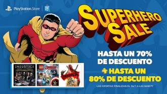¡Superhero Sale en Playstation! #Gamers