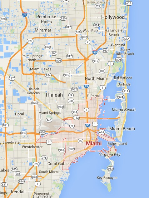 Hollywood otra alternativa cerca de Miami