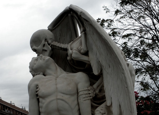 """The Kiss of death"",..."