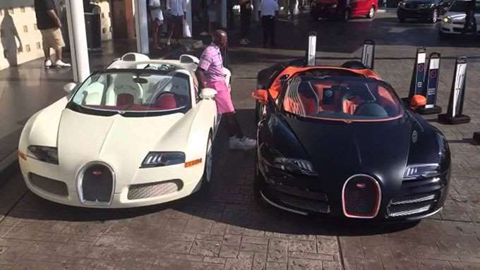 ¡Mayweather vende sus coches!