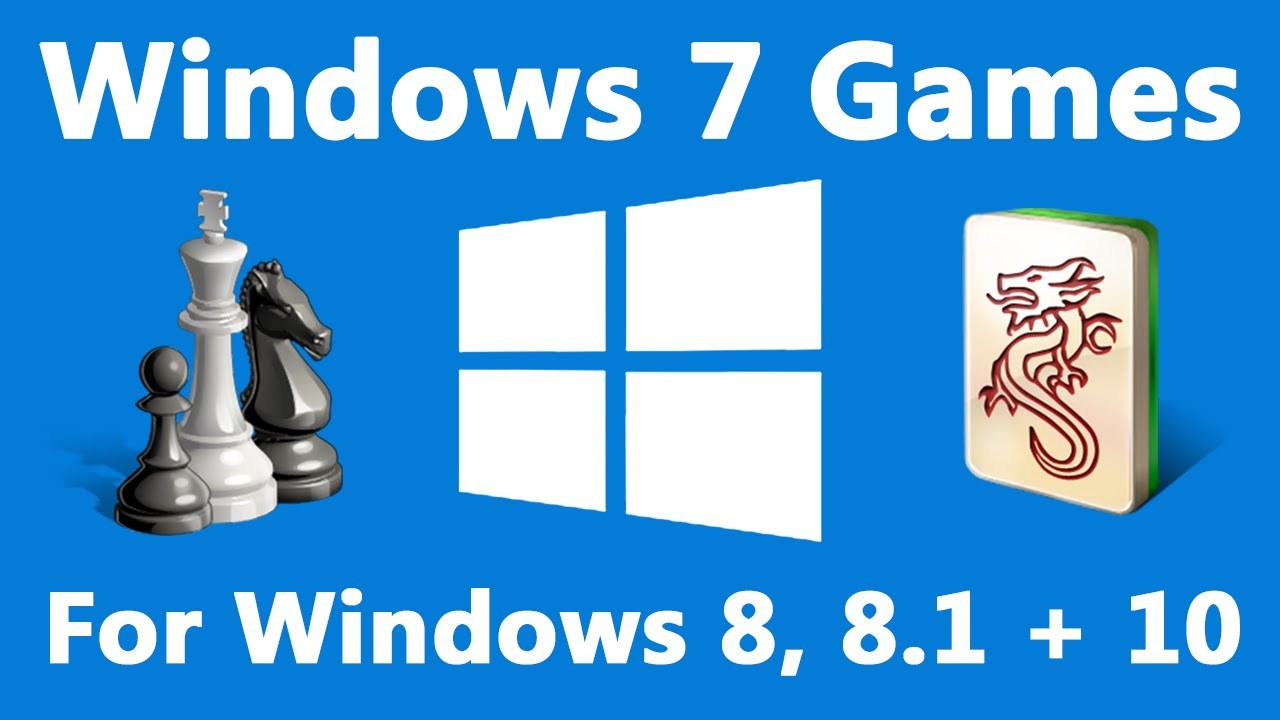Instalar los Juegos de Windows 7 en Windows 10