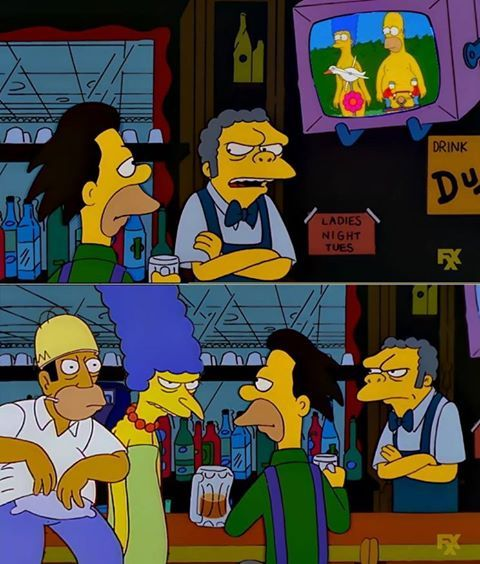 -¿No son esos Homero...