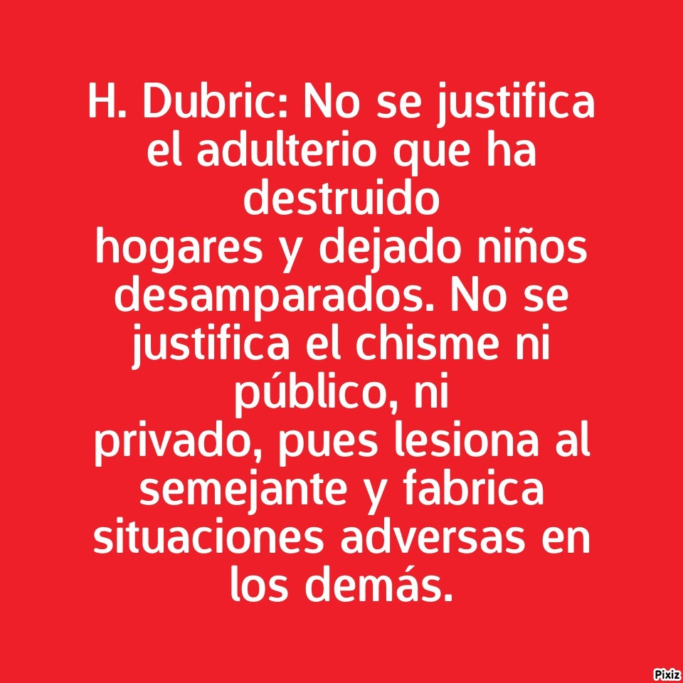 H. Dubric: No se justifica