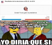#trump los simpsom nos lo advirtieron con todas estas frases #original