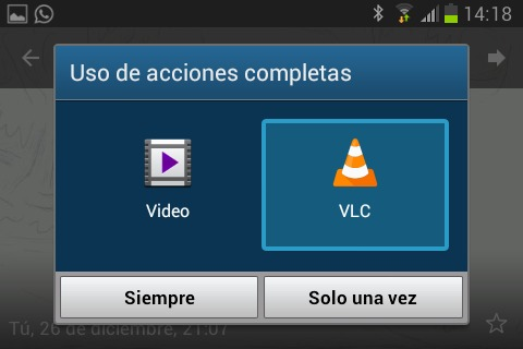 whatsapp no reproduce video