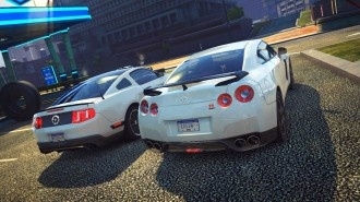 FORD MUSTANG Y NISSAN GTR