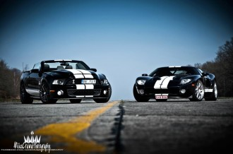 FORD MUSTANG SHELBY GT500 Y GT