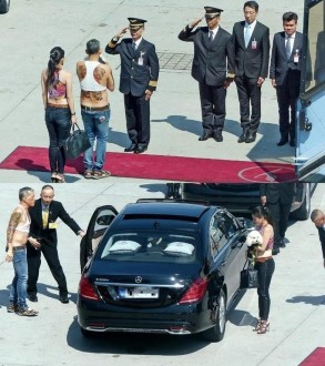 The new King & Queen of Thailand