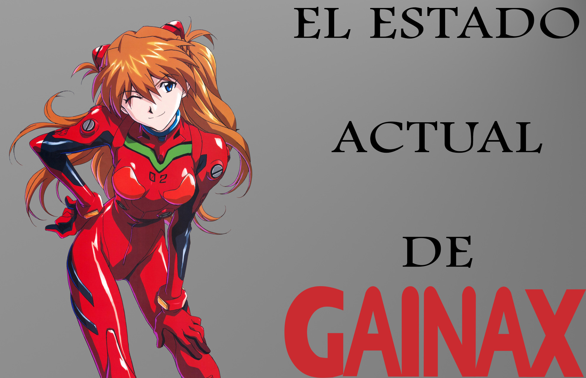 El estado actual de gainax