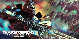 Transformers: The Last Knight - Primer Poster Oficial