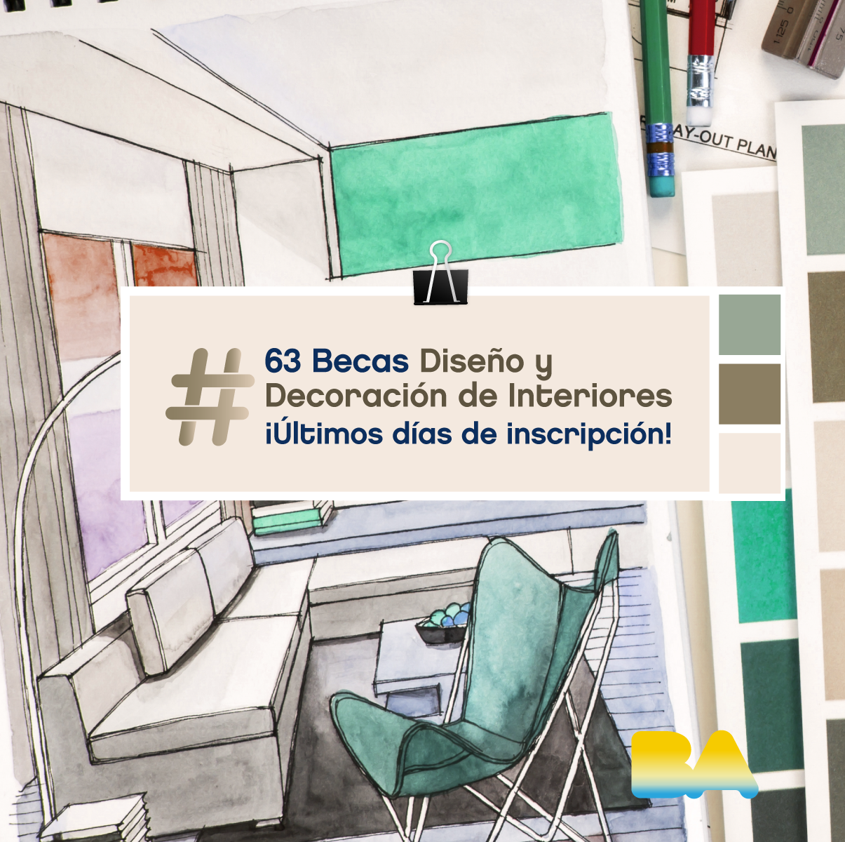 63 becas de dise o y decoraci n de interiores arte for Diseno y decoracion de interiores