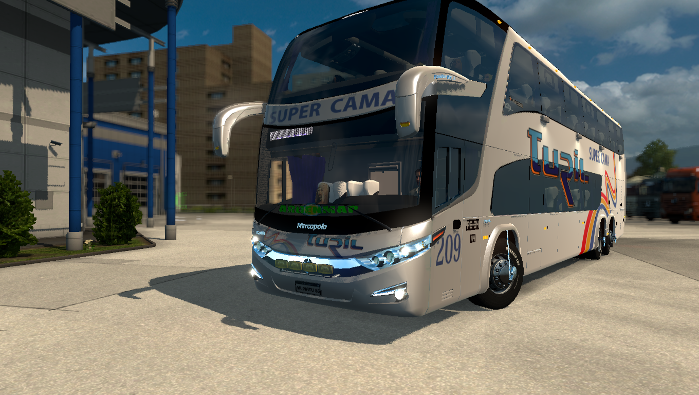 Buses argentinos ETS2