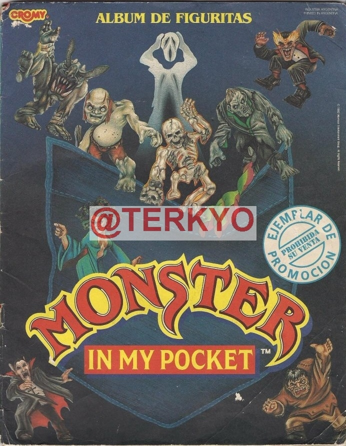 Monster in my pocket album completo