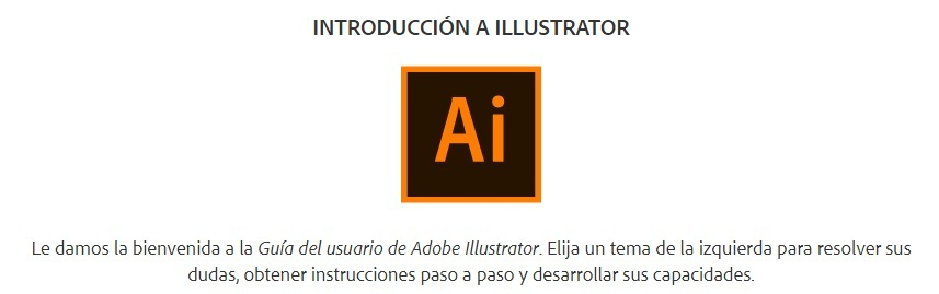 guia de usuario illustrator