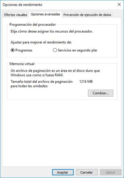 Guía definitiva de como acelerar y optimizar Windows 10