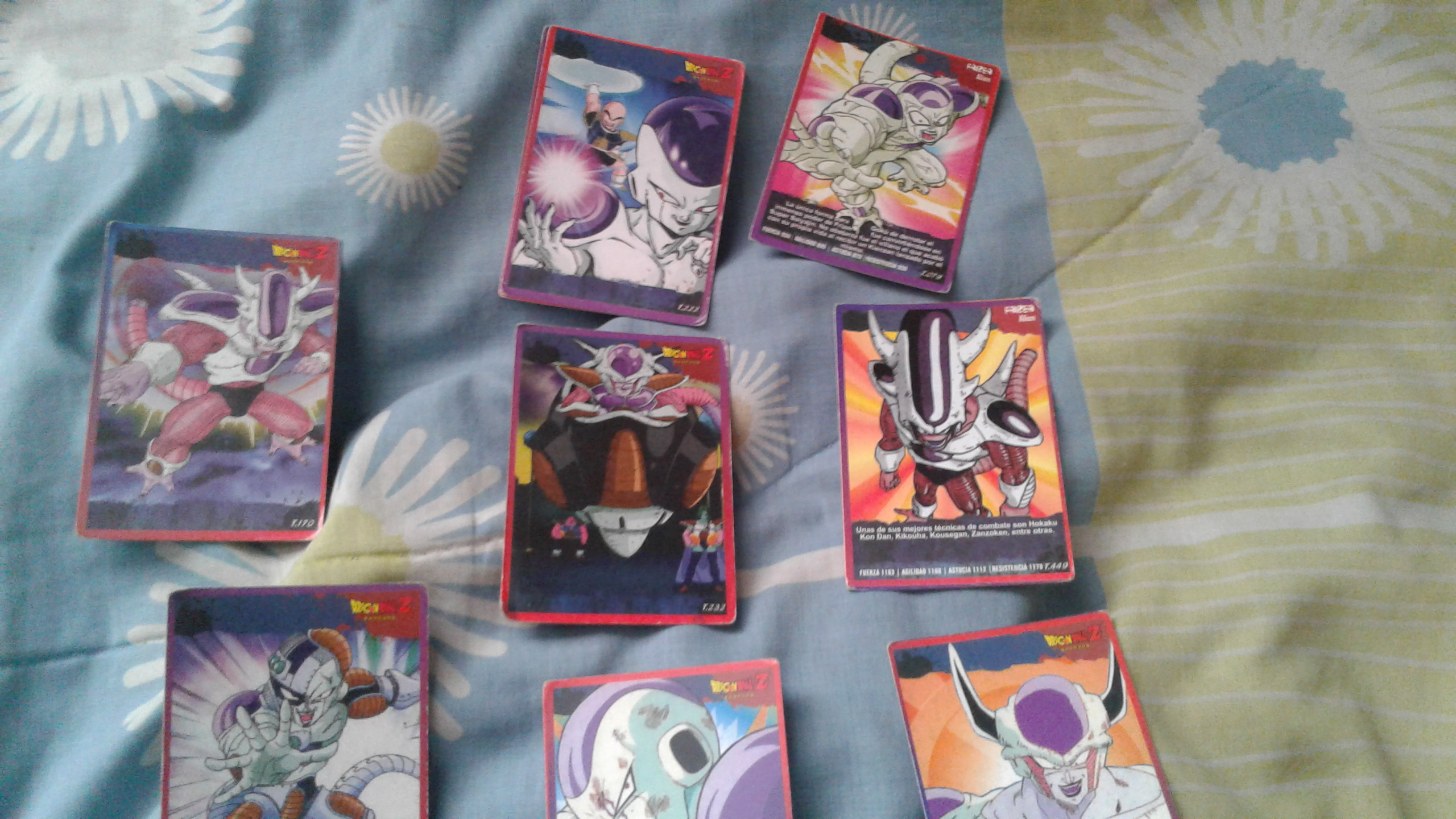 cartas dragon ball