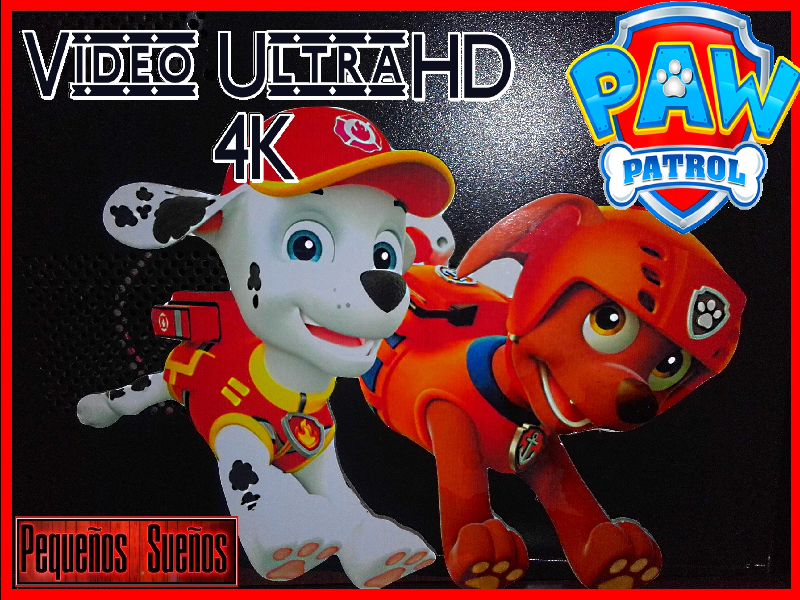 Video Ultra HD-4K -Scroll saw Paw Patroll