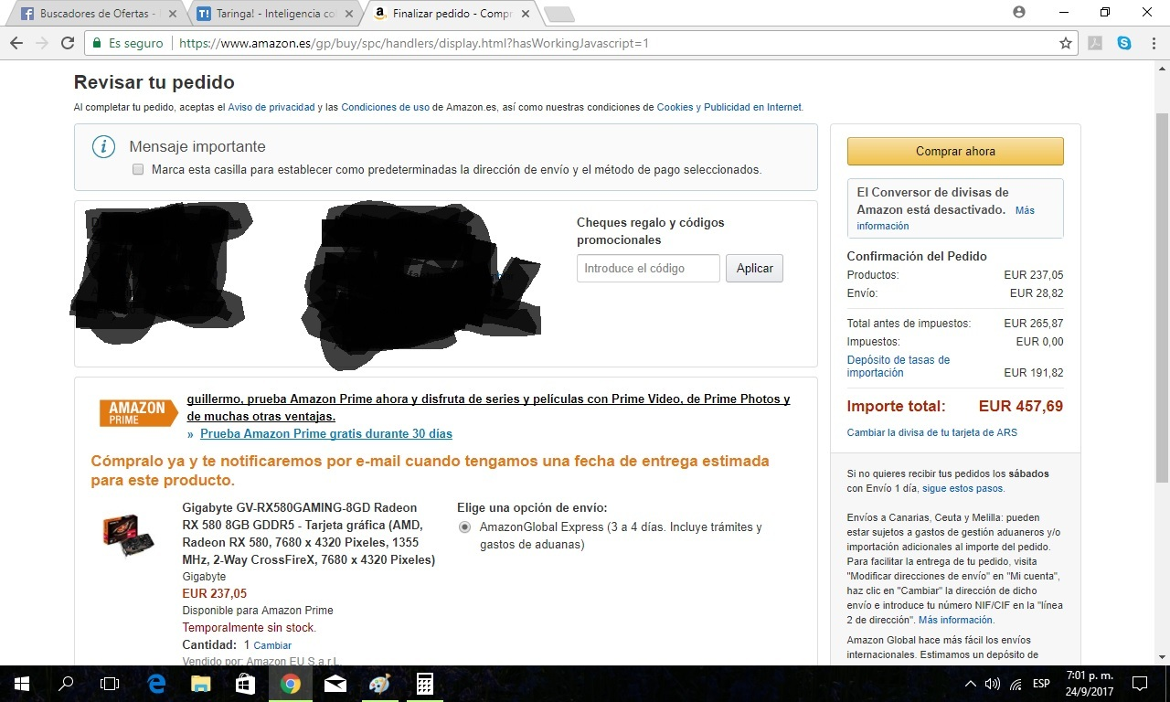 Guia compra en Amazon