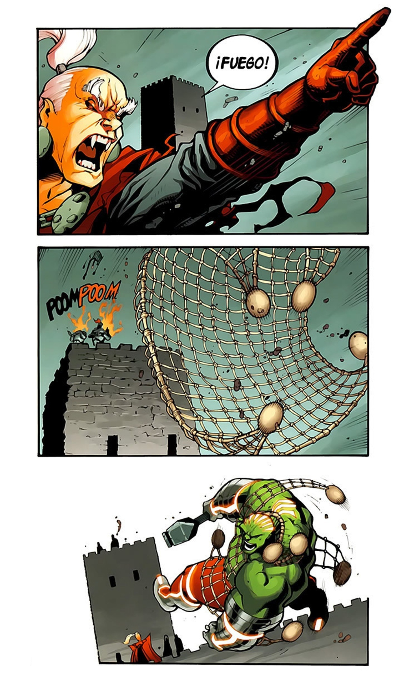 Fear Itself. Hulk vs Dracula #3 End