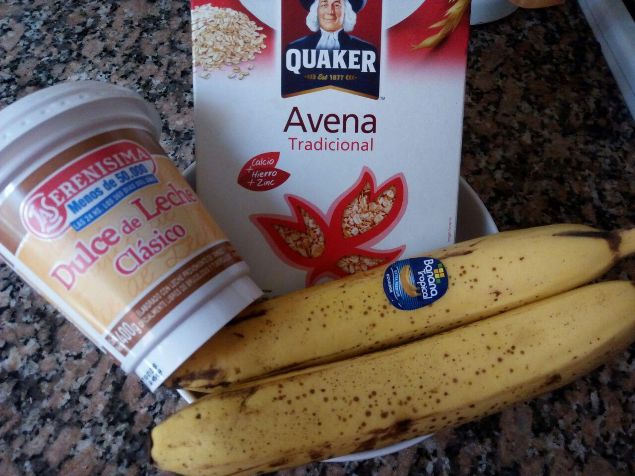Galletitas de banana split con solo 3 ingredientes
