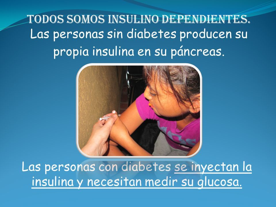 insulinodependientes